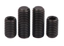 flat point socket set screws