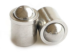 stainless steel Press Fit Spring Plungers