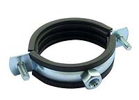 EPDM Rubber Lined Pipe Clamps
